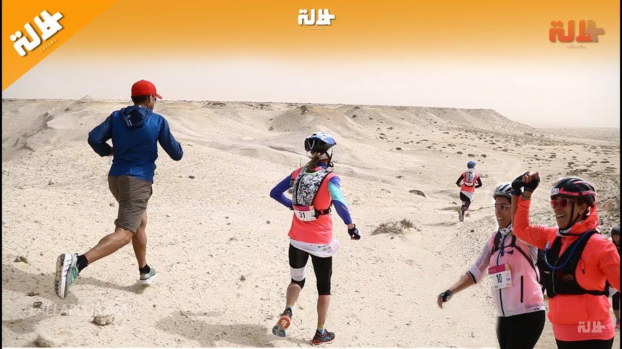 """في قلب صحراء الداخلة.. نساء يخاطرن ويغامرن في تحدي """"صحراوية"""""""