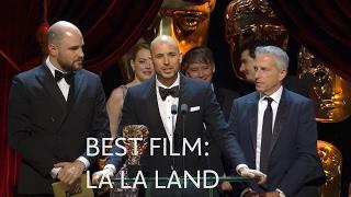 La La Land wins the Best Film BAFTA - The British Academy Film Awards 2017 - BBC One