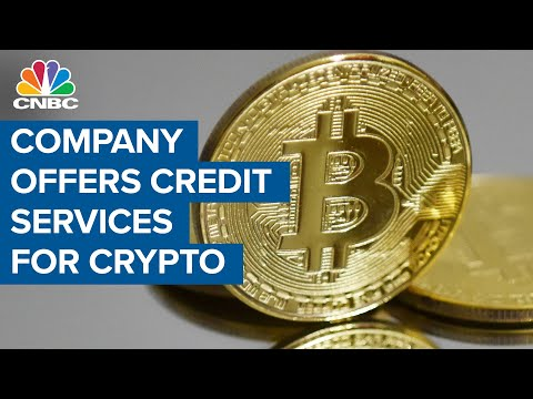 This crypto-lending company offers credit services for cryptocurrency