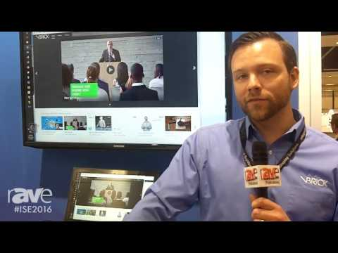 ISE 2016: VBrick Systems Showcases VBrick Rev Cloud-Native Enterprise Video Platform