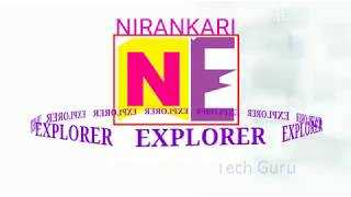 NIRANKARI EXPLORER - INTRODUCTORY PROMO [A Brand New Youtube Informative Knowledge Channel]