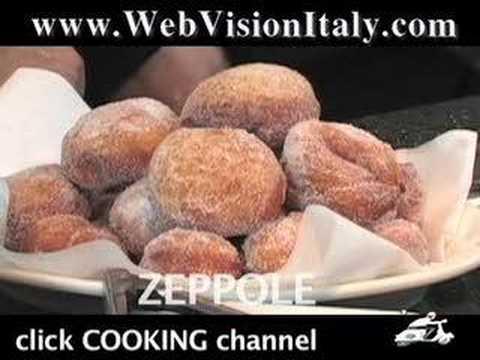 Italian Food - Zeppole / Le Marche, Italy