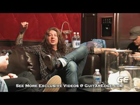 Stone Sour - Exclusive Indepth Studio Interview 2010 [Part 1]