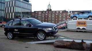 Embarrasing moment for the new Audi Q5