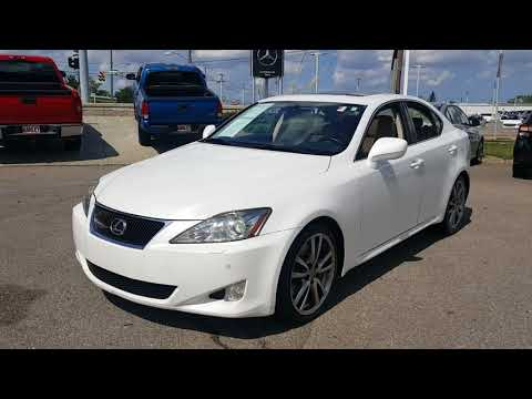 2008 Lexus IS 350 Sport RWD For Sale Cleveland OH S6852T