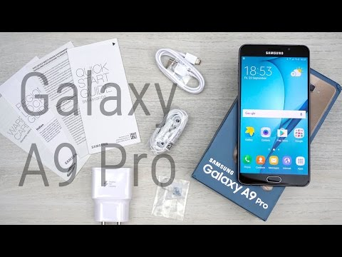 Samsung Galaxy A9 Pro (Indian Variant) - Unboxing & Hands on