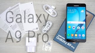 samsung galaxy a9 pro indian variant unboxing hands on