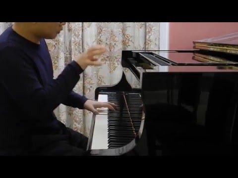 大会堂演奏厅 疯狂钢琴即兴 月半小夜曲 Amazing piano improvisation - Half Moon Serenade, Hong Kong City Hall