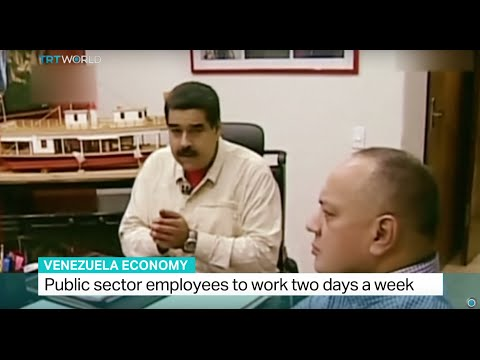 Public sector employees in Venezuela to work two days a week, Andrew Hopkins reports