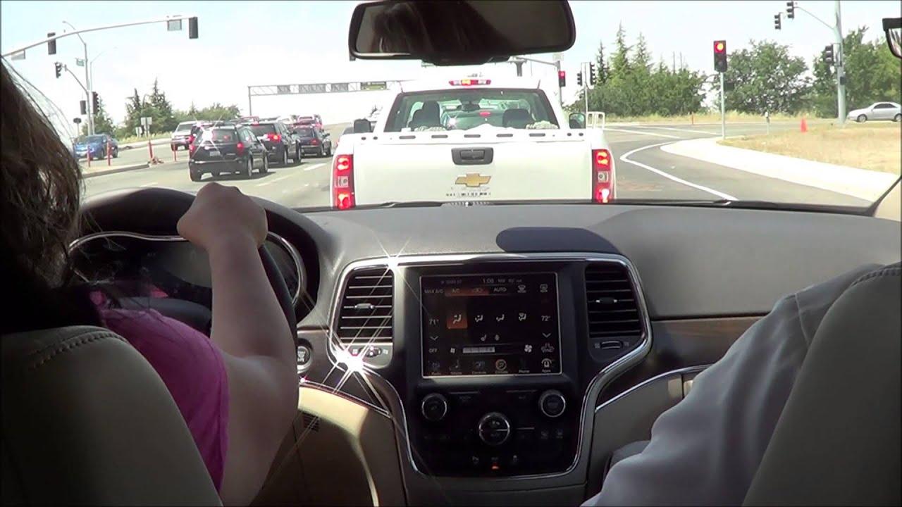 2014 Jeep Grand Cherokee Test Drive 3.6 L V6 - YouTube
