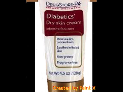 Drugstore Rx Diabetics Dry Skin Cream Dollar Tree Product Review