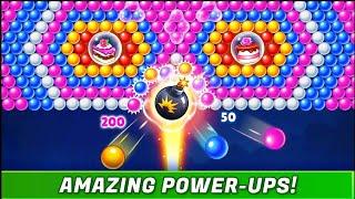 बबल रेनबो, बबल शूटर गेम #bubblegame screenshot 2