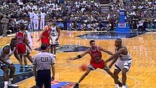 In honor of nba league pass celebrating it's 20th anniversary, take a look back as michael jordan and shaquille o'neal highlight the top plays week fr...