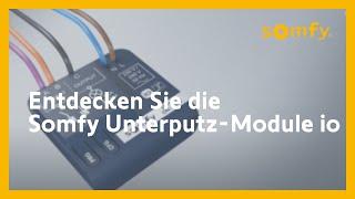 Somfy Unterputz-Module io