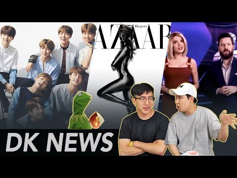 BTS mocked by Australian TV / Is this Blackface?  [DK-News]