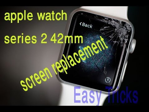 Apple Watch Series 2 42mm Screen Replacement - Easy Tricks