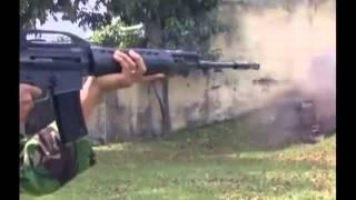 Assault Rifle SS2 PT Pindad Indonesia
