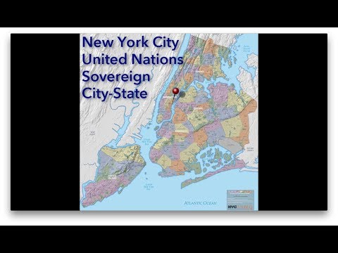 United Nations: The Fourth Sovereign City State of New York City