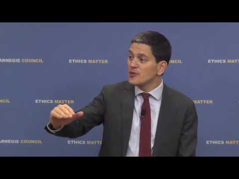 David Miliband: The Nature of Today's Refugee Crisis