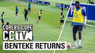 Benteke Back In Training, Tyrick Mitchell Lob And Cahill Blocks | Cctv