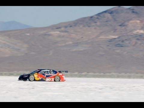 Cacá Bueno bate recorde de velocidade da Stock Car no Deserto de Sal de Bonneville (2010)