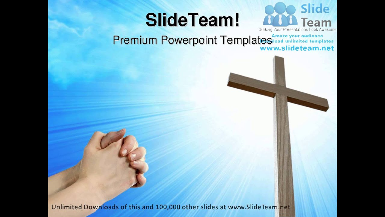 faith and cross religion powerpoint templates themes and backgrounds