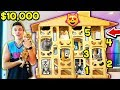 $10,000 5 STORY MEGA MANSION BOX FORT FOR MY CATS! 🐈🐱 (Kitten House)