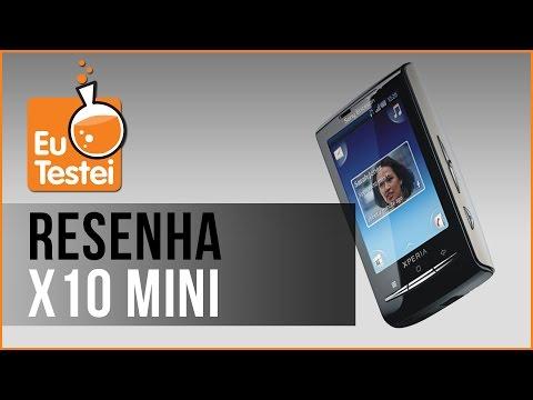 Xperia X10 mini Sony Ericsson Smartphone - Vídeo Resenha EuTestei Brasil