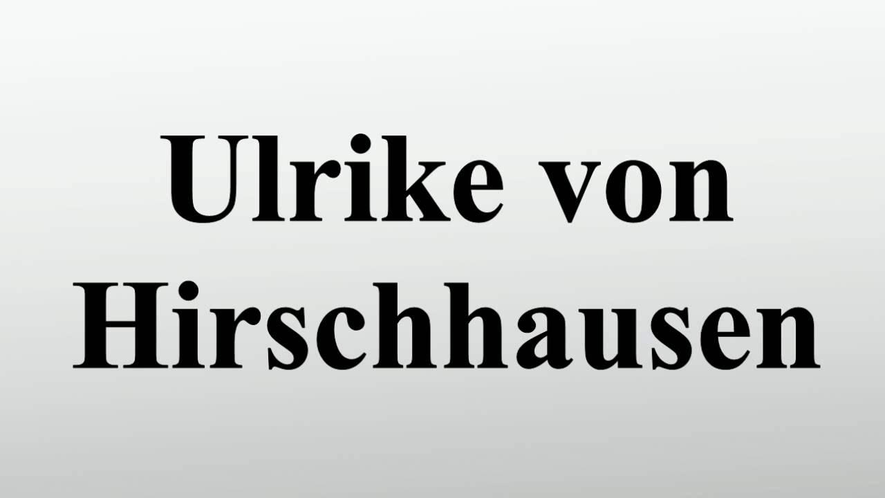 Hirschhausen ehefrau von Dr. Eckart