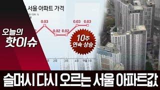 '9.13 부동산 대책' 시행 1년…서울 아파트값 다시…