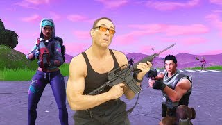 When JCVD Tries Fortnite
