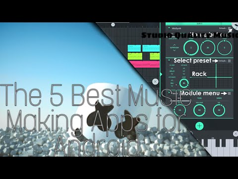 The 5 Best Music Making Apps For Android || SONAR NATION (Check Description Box👇)