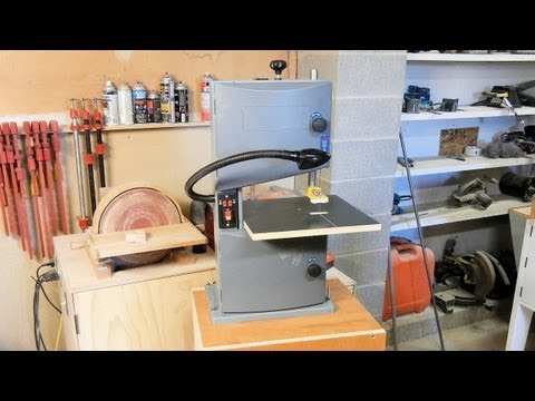 Harbor Freight 9in Bench Top Band Saw Review Funnydog Tv