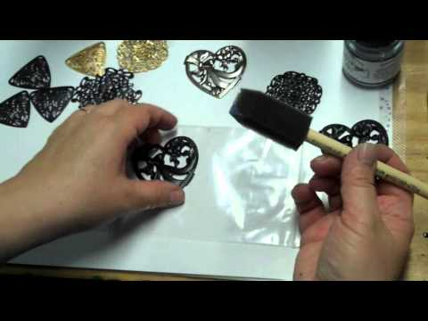 Jewelry 101 An Easy Way To Make Your Own Gunmetal Finish Over