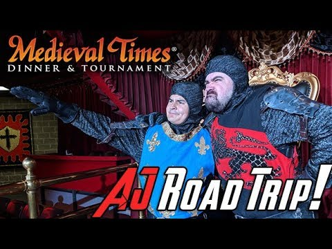 AngryJoe's Road Trip to Medieval Times!