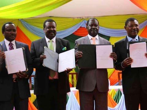 NASA NAIROBI RALLY: Raila Odinga releases list of voters from NASA strongholds