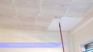 Paano mag pintura ng Kisame (Basic painting on ceiling)