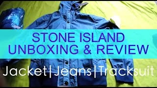 STONE ISLAND UNBOXING & REVIEW | Jacket Tracksuit Jeans |  Weekly Buys Ep.4