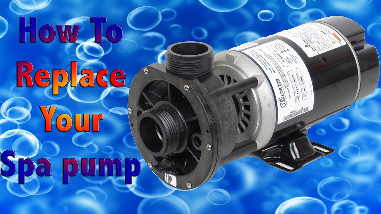 How To Replace A Spa Pump Fix Your Jacuzzi Youtube La Spas Circulation Motor Wiring Diagram