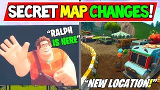 "LA CARTE SECRÈTE FORTNITE ' NEW' CHANGE ! ""Wreck it Ralph!"" - Fortnite Saison 6 / 7 Storyline Ending!"