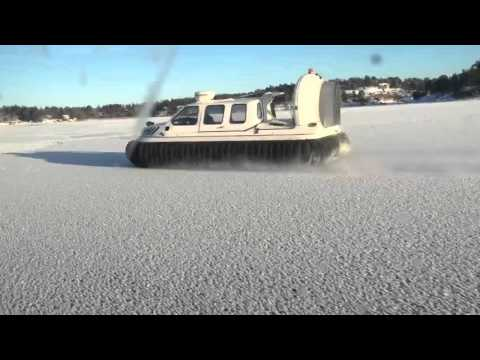 Hovercraft on Ice