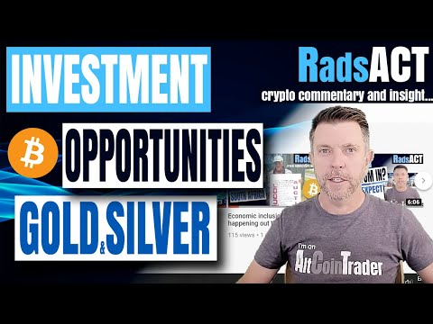 Investment opportunities Gold, silver, bitcoin and crypto are all available on AltCoinTrader.co.za