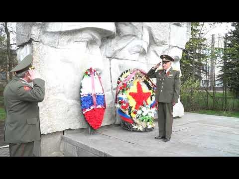 75-летие Великой Победы. Кольчугино. Возложение цветов и венков.