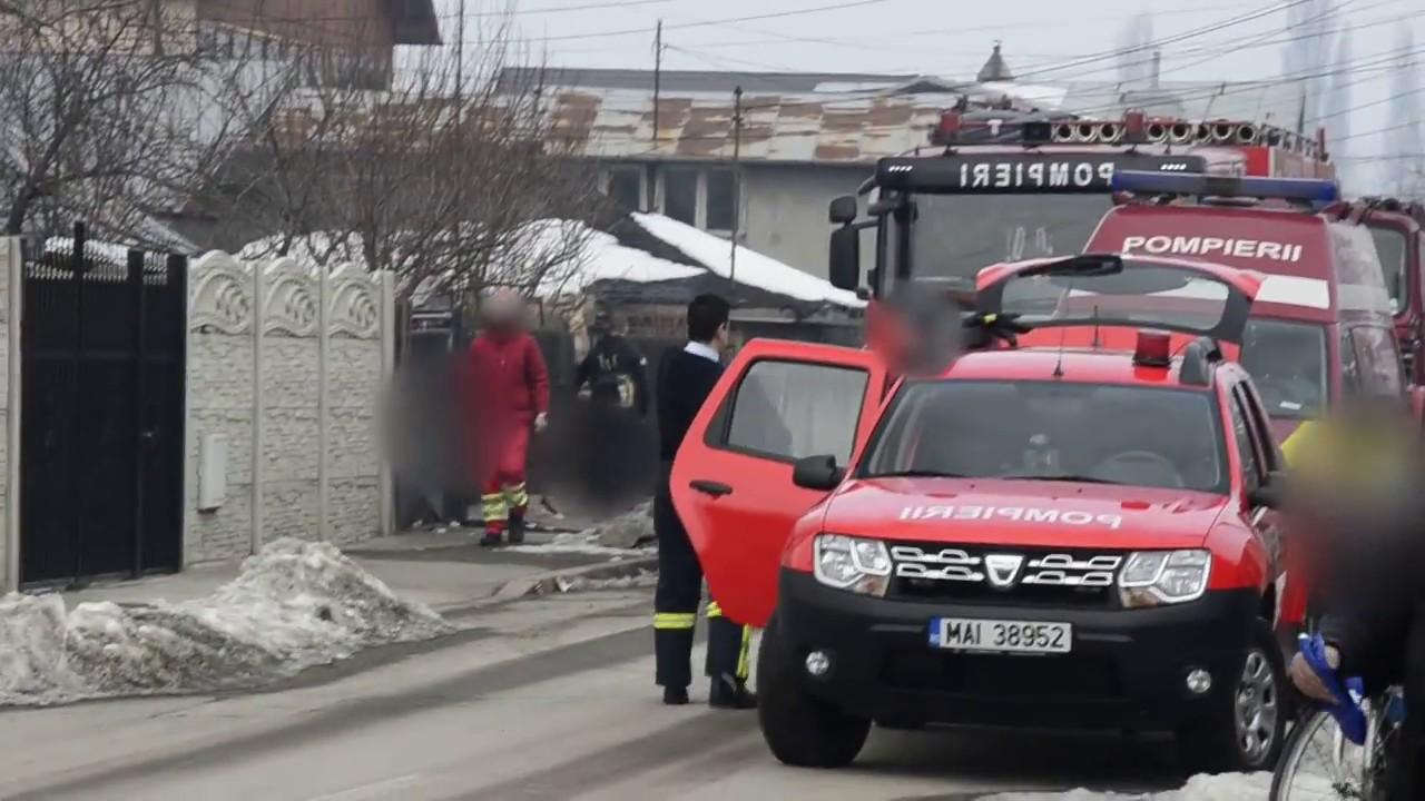 Incendiu la o casă din zona Bucureștii Noi. Pompierii ...  |Incendiu Bucuresti