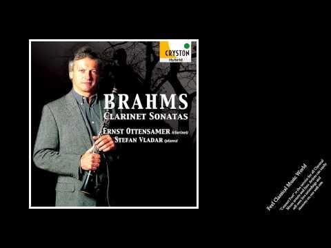 Ernst Ottensamer / Brahms: Clarinet Sonatas