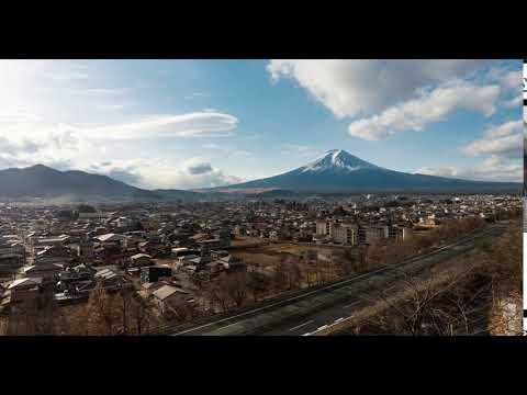 Fuji and a Lenticular Cloud
