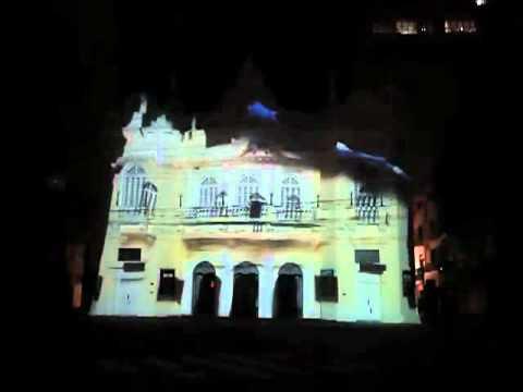 Video-Mapping, Teatro Carlos Gomes, Vitória-ES
