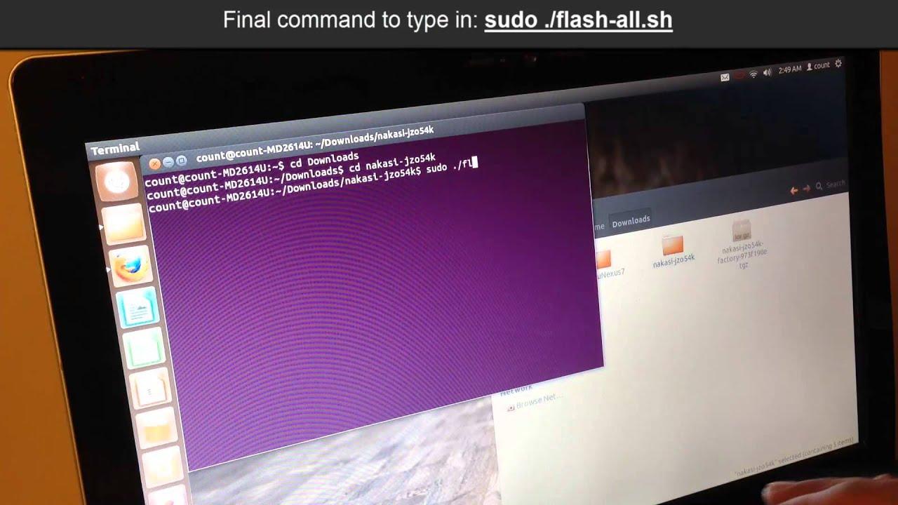 Reinstall / restore stock android on nexus 7, removing ubuntu.