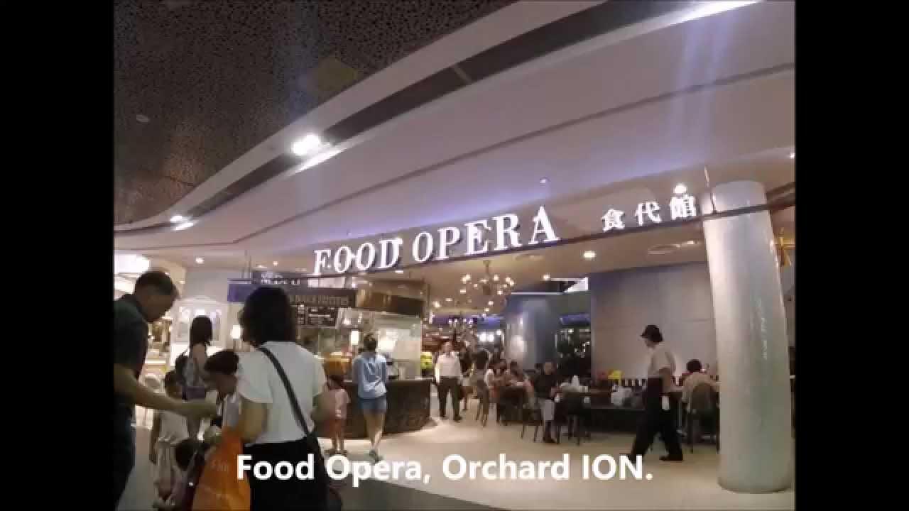 Ion Singapore Food Court