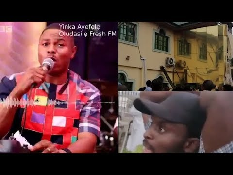 "Yinka Ayefele's Radio Station ""Fresh Fm"" Demolished In Ibadan {Nigerian Entertainment}"